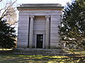 Augustus D. Juilliard Mausoleum in Woodlawn Cemetery.JPG