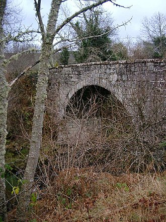 Duncan Mackenzie - The old bridge at Aultgowrie