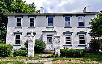 Worthington, Ohio - Aurora Buttles House in Worthington, built in 1818