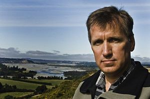 English: Author James Rollins, 2008, Springfie...