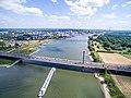 Autobahnbrücke Leverkusen A1 Stau (18680374912).jpg