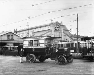 Ariès - Ariès omnibus in Prague, 1908