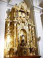 Avila - Monasterio de la Encarnacion 57 (Capilla donde Santa Teresa y San Juan de la Cruz cayeron en extasis).jpg
