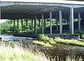 Avon at M74 Motorway Bridge - geograph.org.uk - 928297.jpg