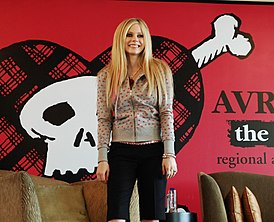 Avril Lavigne in Hongkong Press.JPG