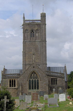 Axbridge - Image: Axbridgechurch