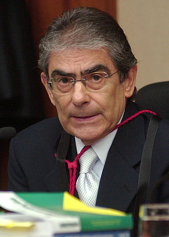 Sergipe - Carlos Ayres Britto, President of Brazil's Supreme Court