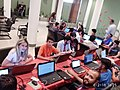 Azerbaijani Wikipedians in 2018 Spring WikiCamp 04.jpg