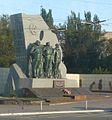 Azovstal Mariupol monument.JPG