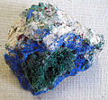 Azurite with malachite and others.jpg