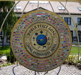 World Peace Gong - World Peace Gong in Hungary