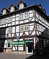 Bürgerhaus von 1660 einer Textilhändler Familie - Eschwege Ecke Neuer Steinweg-Obermarkt 1 - panoramio.jpg