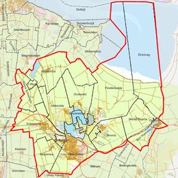 Lijst van woonplaatsen in Groningen - Wikipedia