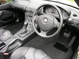 BMW Z3 - 2001 Z3 3.0i interior (facelift)