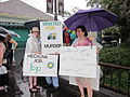 BP Oil Flood Protest NOLA Wanted For Murder.JPG