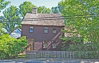 Bradford, Rhode Island - Solomon P. Wells House in the historic district