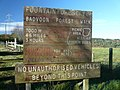 Badvoon Forest walk placard. - geograph.org.uk - 1570363.jpg