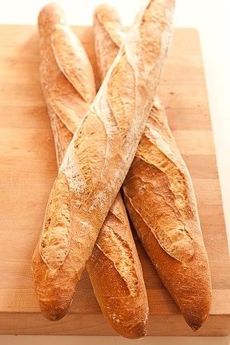 Baguette - Image: Baguettes stonesoup