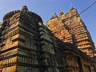 Baitala Deula Hindu temple of goddess Chamunda in Bhubaneswar, India