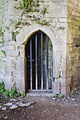 Ballybeg Priory St. Thomas Doorway to Spiral Stairs of Belfry Tower 2012 09 08.jpg