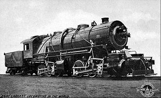 0-6-6-0 - Image: Baltimore and Ohio Old Maude mallet locomotive