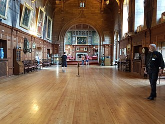 Bamburgh Castle - State Rooms of Bamburgh Castle