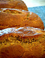 Banana sour cream bread, July 2008.jpg