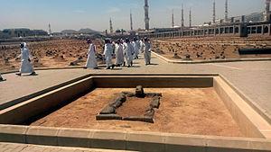 Uthman - Uthman's tomb after demolition by Saudi regime.