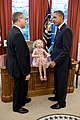 Barack Obama talks with Andrew Kline.jpg