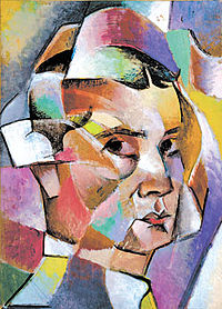 Baranov-Rossine (self-portrait, 1914).jpg