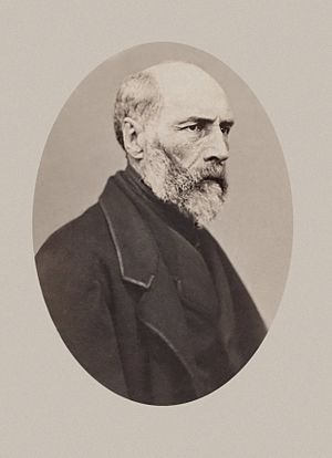 Armand Barbès - Photograph of Armand Barbès in Holland, 1869