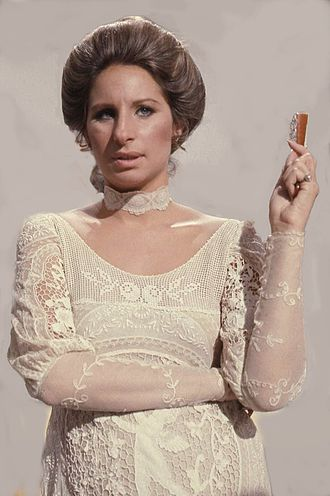 Barbra Streisand - Streisand taping her TV Special Barbra Streisand ... and other Musical Instruments in 1973