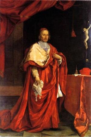 Antonio Barberini - Portrait of cardinal Antonio Barberini by Carlo Maratta.