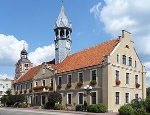 Barczewo - Town hall