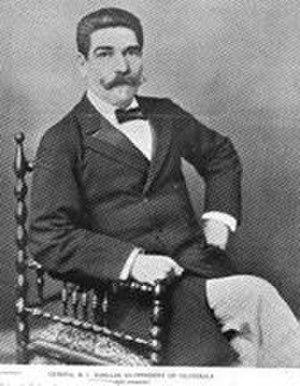 Salamá - General Manuel Barillas; Guatemalan president from 1886 to 1892.