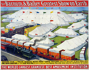 English: The Barnum & Bailey greatest show on ...