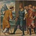 Bartholomäus Bruyn d. Ä. - Cyriakus-Folge, Kaiser Diokletian reicht dem hl. Cyriakus die Hand - WAF 107 E - Bavarian State Painting Collections.jpg