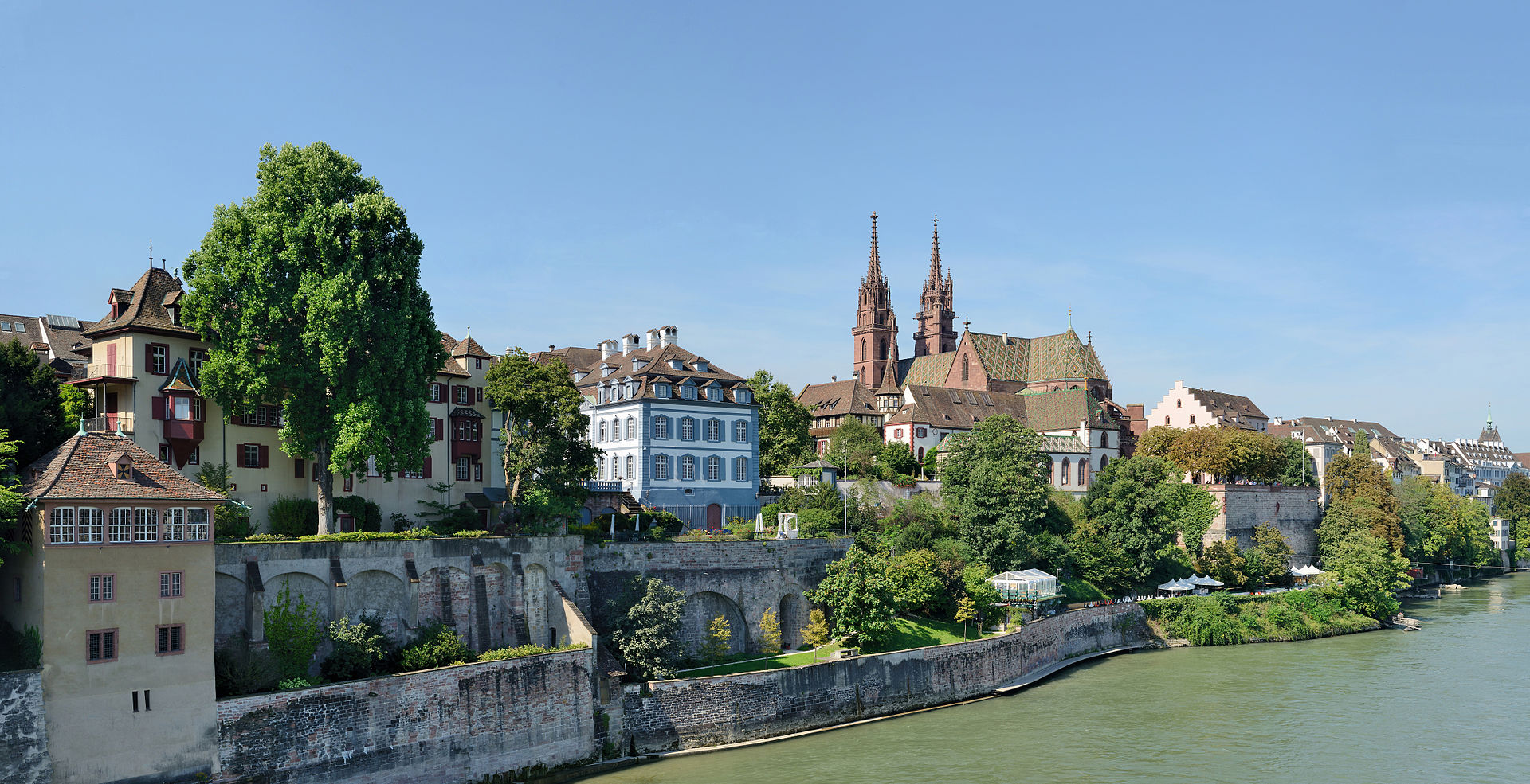 View from the Rhine
