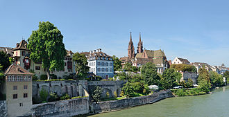Basel - View from the Rhine
