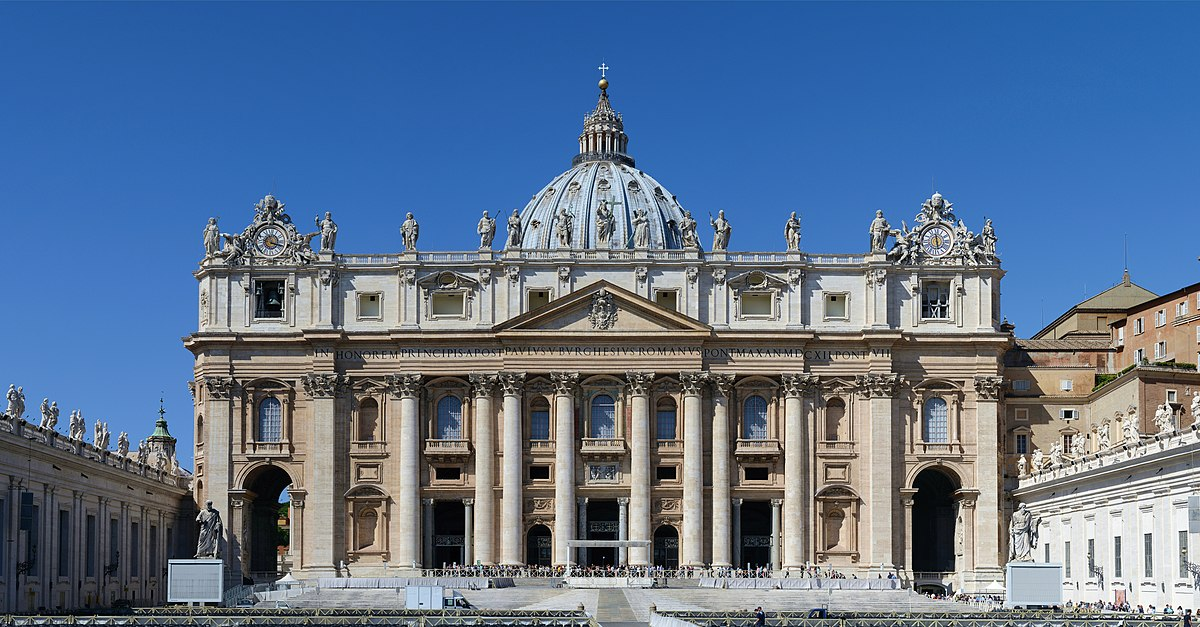 St  Peter's Basilica - Wikipedia