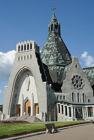 Cap-de-la-Madeleine - Basilica of Cap-de-la-Madeleine