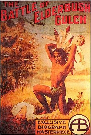 The Battle at Elderbush Gulch - Film poster