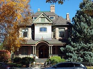 National Register of Historic Places listings in Pueblo County, Colorado - Image: Baxter House