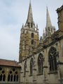 Bayonne Cathedral from Cloister.JPG