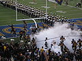Bears take the field at Maryland at Cal 2009-09-05.JPG