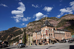 Beaumont Hotel Ouray Colorado.JPG