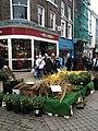 Beautiful signs of spring, flower stall, York - geograph.org.uk - 2296565.jpg