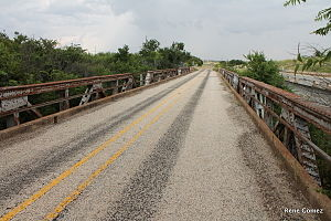 National Register of Historic Places listings in Wichita County, Texas - Image: Beaver Creek Bridge