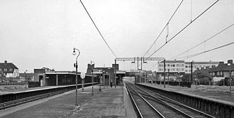Becontree tube station - Image: Becontree Station 1776798