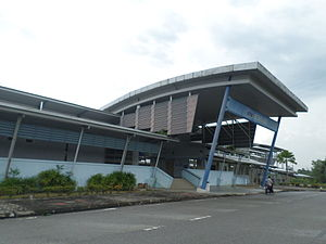 Behrang railway station - Image: Behrang Railway Station